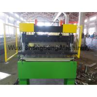 Quality 0.8-1.6 Mm Thickness Floor Deck Sheet Roll Forming Machine High Durability wholesale