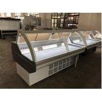 Quality Supermarket Meat Deli Display Refrigerator / Countertop Refrigerated Display Case wholesale