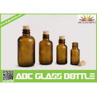 Quality High Quality Amber Cork Pharmaceutical Glass Bottles Brown Color wholesale