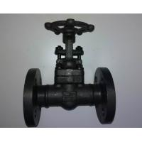Quality Welded Bonnet Forged Steel Valves Flange Type Gate Valve Class 150 wholesale