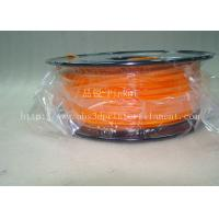 Cheap Biodegradable Orange PLA 3d Printer Filament  1.75mm Materials For 3D Printing for sale