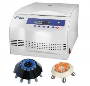 Low Noise Medical Centrifuge Machine BT6 0-6000 RPM Adjustable Speed