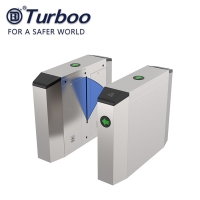 Quality Office Factory 3 Pairs Flap Barrier Gate Retractable Automatic Designed wholesale