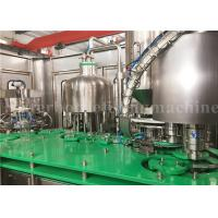 China Rotary Glass Bottle Filling Machine Mango Juice Bottling Packaging Plant 4.23kw on sale