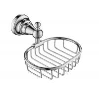 Quality Chrome Bathroom Accessory Shower Baskets And Shelves Mounting Hardware Included wholesale