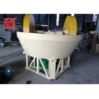 China Gold Plant Ore Dressing Equipment Wet Pan Mill Grinder Machine Easy Installation on sale