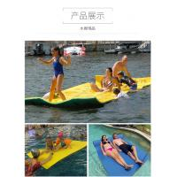 Quality Colorful Inflatable Foam Floating Mat / Giant Floating Foam Pad For Lake wholesale