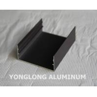 Quality Powder Coated Aluminium Profile For Curtain Wall Frame Champangn , Bronze wholesale