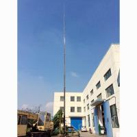 Quality 32m Height 20kg payloads antenna pneumatic telescopic mast model 90A13320 wholesale