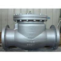 Quality Stable Performance Cast Check Valve , CS and SS Swing Check Valve wholesale