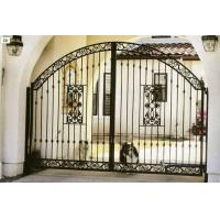 Quality ornemental wrought iron gate wholesale