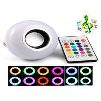 2 In1 RGBW Remote Led Speaker Light Bulb With 10m Bluetooth Distance