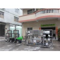 Quality 6TPH Automatic Water Purification System / Ro Water Treatment Plant With CIP System Seko Dosing Pump wholesale