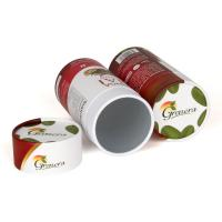 Buy cheap Food Grade Customized Paper Tube Packaging For Spice / Milk powder / Nourishment product
