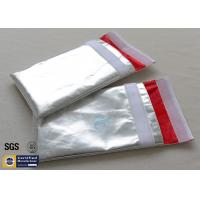 Quality Fireproof Document Bag Envelope Non Irritating Heat Reflective Fiberglass Cloth wholesale