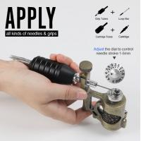 Quality Precision Control Adjustable Needle Stroke 1 - 5mm Stonger Power  Electric  New Tattoo Machine Guns wholesale