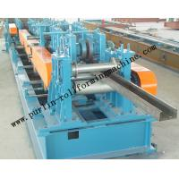 Quality Automatic C / Z Purlin Roll Forming Machine Interchangeable For Steel Frame wholesale