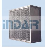 Quality High Mechanical Strength Clean Room HEPA Filters , SUS304 Frame H13 HEPA Filter wholesale