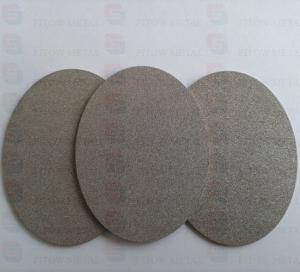 Gr1 Gr2 powder Sintered Titanium and Titanium alloy filter elements fitow