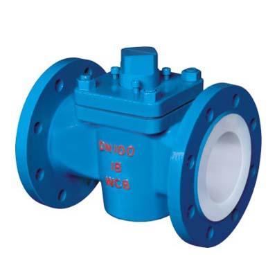 Fluorine plug valve X43F46-16C