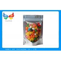 Buy cheap Self Standing Stand Up Pouches With Window , Tea Packaging Zip Food Bags product