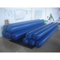 Quality 4.5mH*0.33m Diameter Blue Color Water Park Inflatable Tube With PVC Tarpaulin wholesale