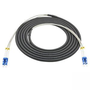 Quality Outdoor 5G Telecom CPRI Armored Multimode OM2/OM3/OM4 Fiber Optic Duplex LC Patch Cords wholesale