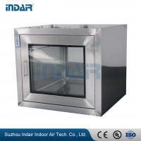 China No Dead Angle SS Pass Box Deliver Small Objects To Reduce Clean Area Pollution on sale
