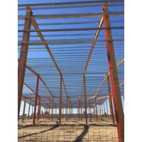 China Q345 Prefabricated workshop / I beam steel structure warehouse for sale