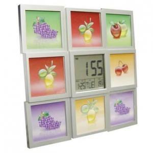 Photoframe clock