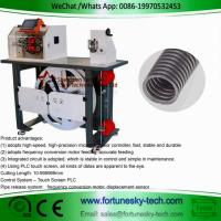 Quality Automatic English System Wave Peak Cut-Open Corrugated Pipe Cutting Feeding Rack Integrated Machine wholesale