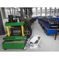 China 1.5-3Mm C Channel Roll Forming Machine / Galvanized Steel Sheet Metal Roll Former Machine on sale