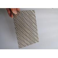 Buy cheap Production of wholesale corrosion resistant decorative mesh For indoor and from wholesalers