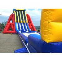 China Custom Giant Inflatable Slide With Lovely Theme Hand Painting on sale