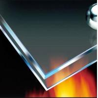China Low price 15mm fire-resistant glass suitable for building doors and windows (30-90 minutes) on sale