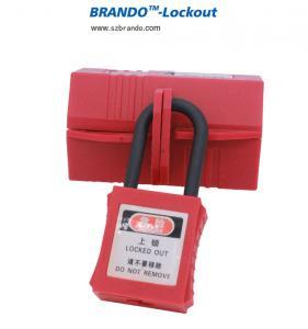 China 23mm diameter low price polypropylene electrical plug lockout device on sale