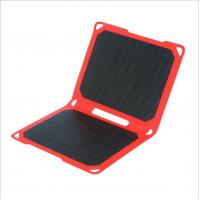 Lightweight 14W Solar Powered Smartphone Charger For Outdoor Camping