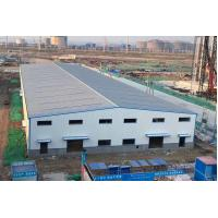 China Prefab Steel Buildings Warehouse / Prefab Light Metal Building Warehouses on sale