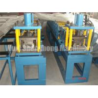China Shutter Door Cold Roll Forming Machine With Double Head Uncoiler on sale