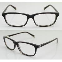 Quality Lightweight Stylish Acetate Women / Mens Eyeglasses Frames with Demo Lens wholesale
