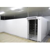 Quality 90 Degree Turn Personnel Air Shower Tunnel  ,  Clean Room Equipments With Painted Steel Material wholesale