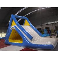China PVC Giant Inflatable Slide  Blow Up Slide Into Pool Double Suture Technology on sale