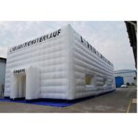 White 10m x 10m Advertising Inflatable Tent , Outdoor Inflatable Cube Tent