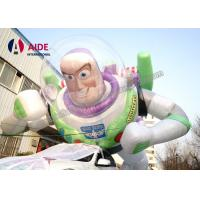 Quality Toy Story Giant Inflatable Carton Buzz Lightyear , Inflatable modle CE / SGS wholesale