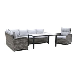 Quality 1975mm Breadth 780mm Depth Rattan Sofa Set Outdoor Water Resistant wholesale