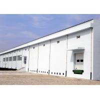 Cheap Industrial steel structure workplant building with concrete wall for sale