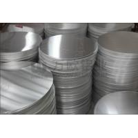 Quality 1060 Circular Aluminum Plate 0.4 - 6.0mm Thickness High Strength For Traffic Sign wholesale