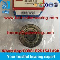 Quality P0 Precision Metal Shielded SKF 305802C-2Z Yoke type Track Roller Bearing wholesale