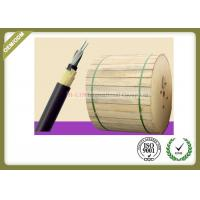 China 24 / 48fibers Outdoor Fiber Optic Cable SM G652D Aerial Self Supporting For 100M 150M 200M Span Condition on sale