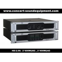 Quality 8Ω Stereo Output 2 X 600W Analog Audio Amplifier For Living Event / Concert wholesale